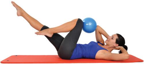 Μπάλα Γυμναστικής Mambo Max Pilates Soft 26cm AC-3235