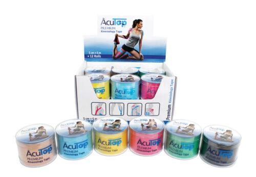 Tape Κινησιοθεραπείας Acu Top Premium (Ρολό 5cm x 5m)
