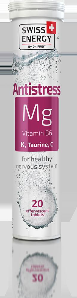 Βιταμίνη ANTI-STRESS Mg + Vitamin B6,K,Taurine,C Swiss Energy