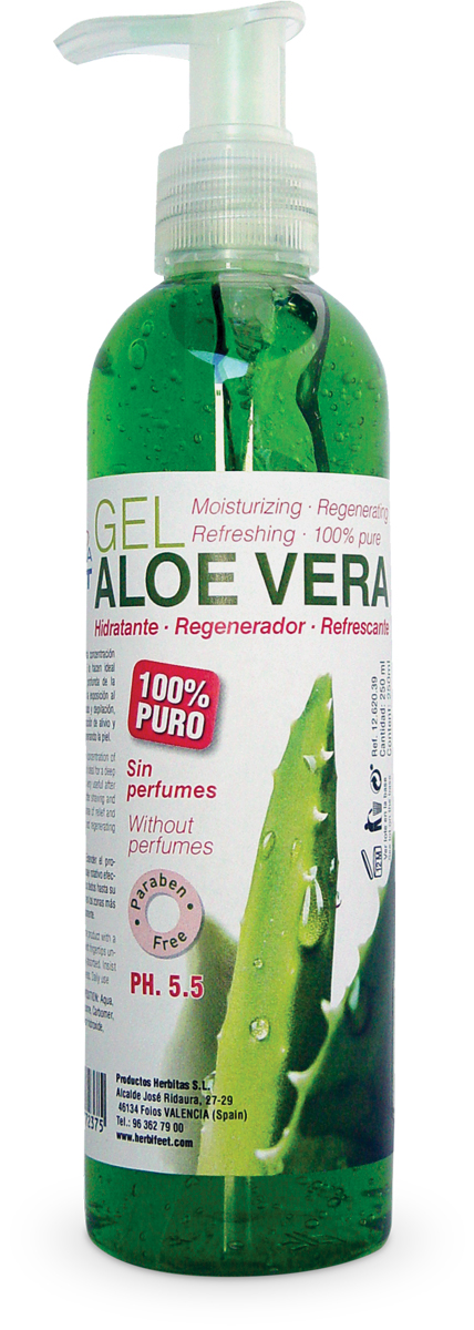 Gel Ποδιών Derma Feet Aloe Vera 200ml HF 6039