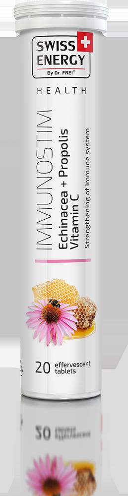 Βιταμίνη IMMUNOSTIM Echinacea + Vitamin C