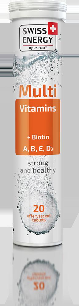 Πολυβιταμίνη MultiVitamins + Biotin Swiss Energy
