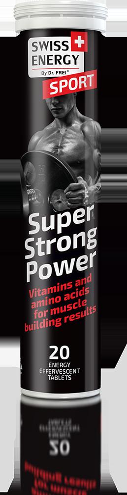 Βιταμίνη SPORT Super Strong Power SWISS ENERGY