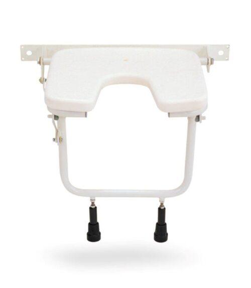 Κάθισμα Μπάνιου Επιτοίχιο Πτυσσόμενο AC–385