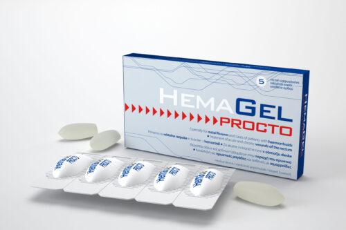 Hemagel PROCTO (5 τεμάχια)