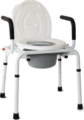 Vita Orthopaedics Καρέκλα WC Με Πτυσσόμενα Πλαϊνά 09-2-118