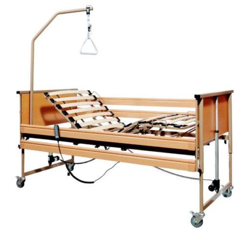 Mobiak Virgo Κρεβάτι Ηλεκτρικό Πολύσπαστο με Κάγκελα & Αναρτήρα 0803152