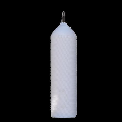 Φορητή φιάλη ιατρικού οξυγόνου 3 λίτρων αλουμινίου χωρίς κλείστρο